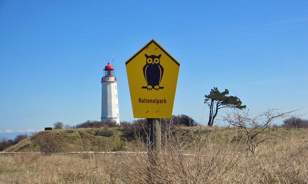 Hiddensee Leuchtturm und Nationalpark