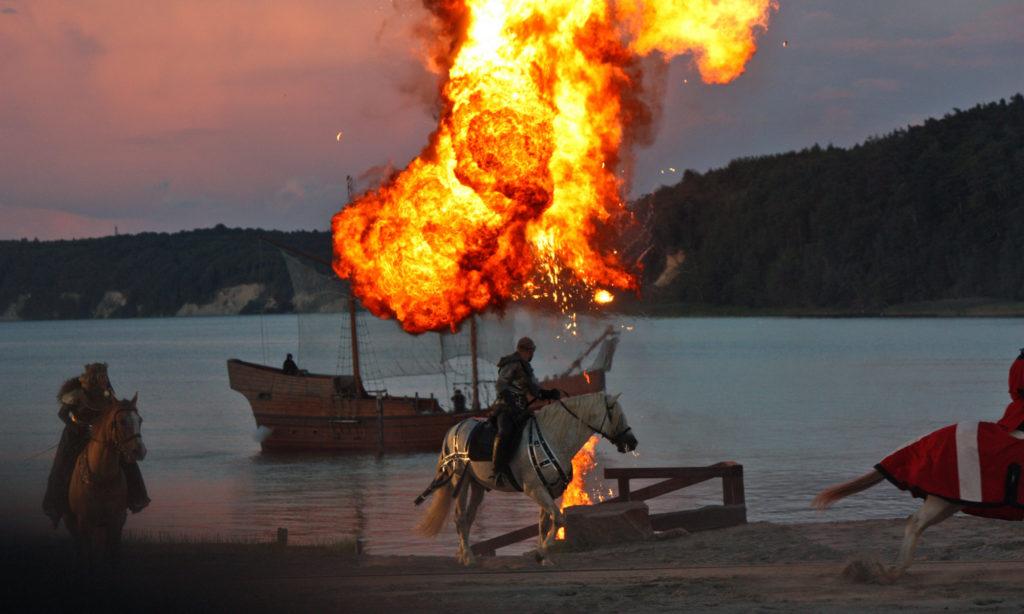 Störtebeker Festspiele in Ralswiek auf Rügen
